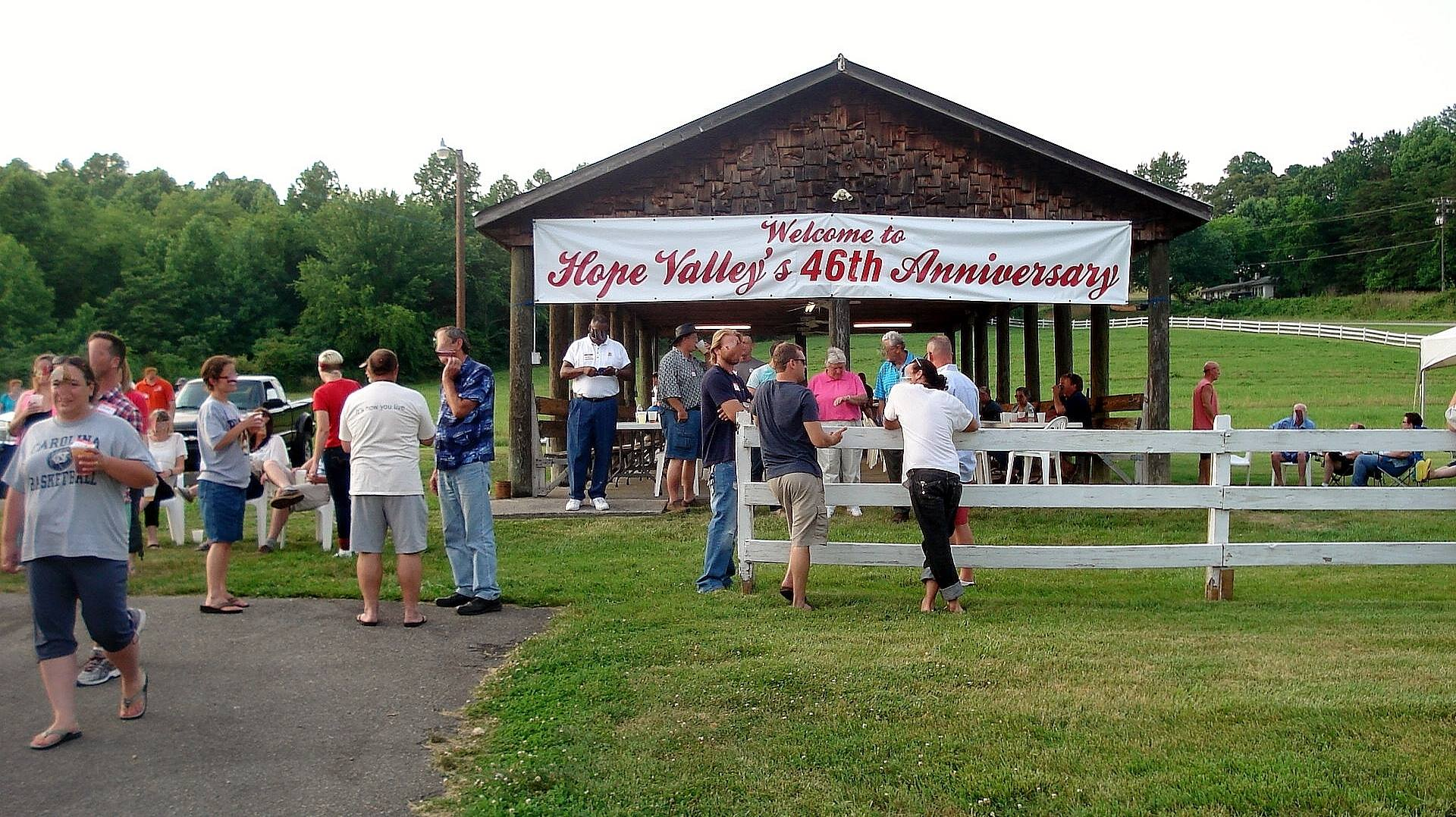 Hope Valley Anniversary celebration